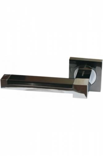 Ручка дверная R-48 черный никель/хром