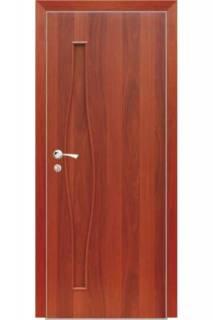 Межкомнатная дверь ДГ Волна итальянский орех