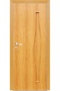 Межкомнатная дверь ДГ Волна миланский орех