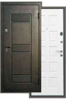 Входная дверь Троя седой дуб