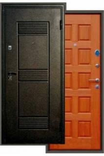 Входная дверь Троя золотистый дуб