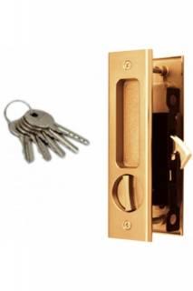 Ручки дверные купе с фиксатором и ключом